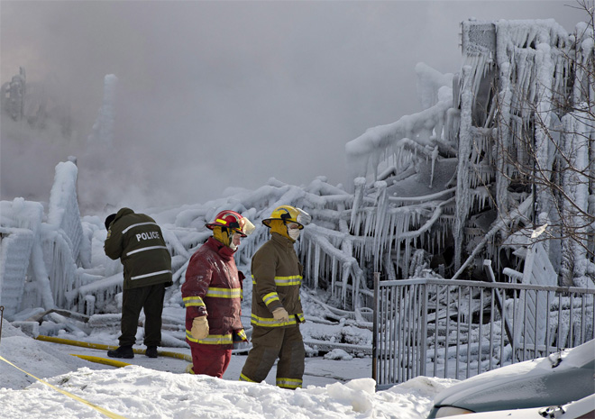 Quebec Fire