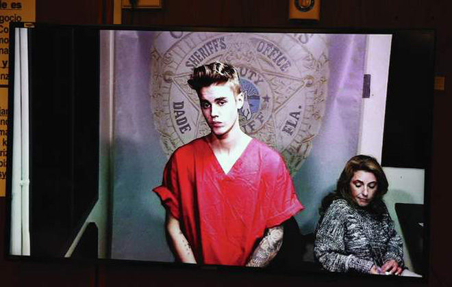 Judge to review Bieber arrest video before release