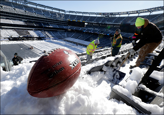 Super Bowl co-chair wants game back in NY area again
