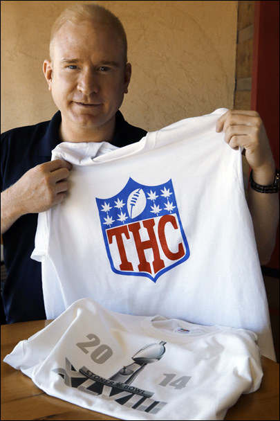 THC-Hawks? Pot puns pack this Super Bowl