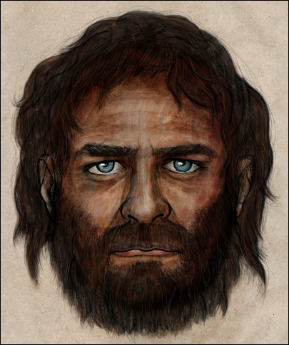 DNA shows ancient European had blue eyes, dark skin