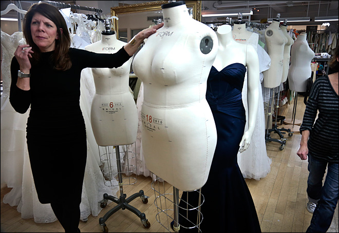 Mannequins get a makeover to look more real
