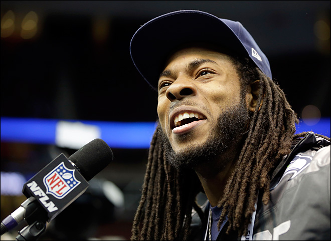 Seahawks' Richard Sherman lands soup endorsement deal