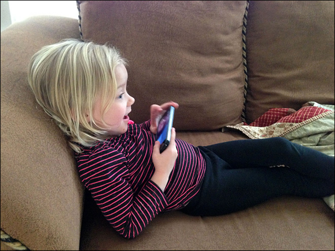 Toddlers love selfies: Parenting in an iPhone age