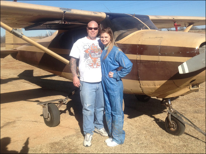 Teen survives skydive after parachute mishap