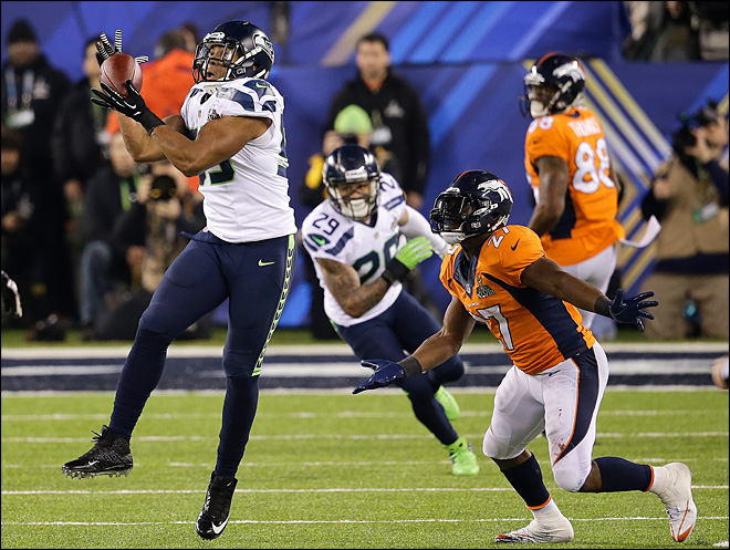 Seahawks lead Broncos 43-8 in 4th quarter