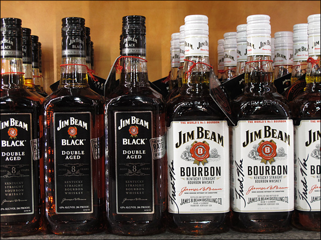 Bourbon, Tenn. whiskey sales up in U.S., overseas