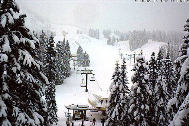 130,000 boatloads of snow (give or take) coming to the Cascades this week