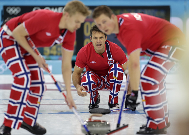 APTOPIX Sochi Olympics Curling Men