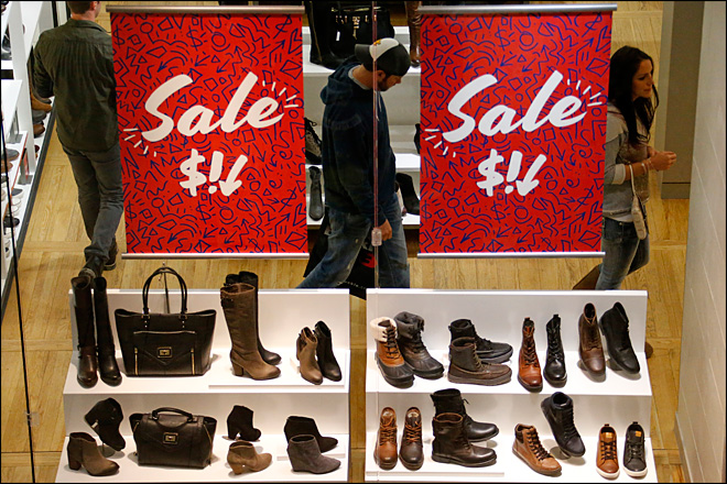 U.S. retail sales rebounded 0.3 percent in February