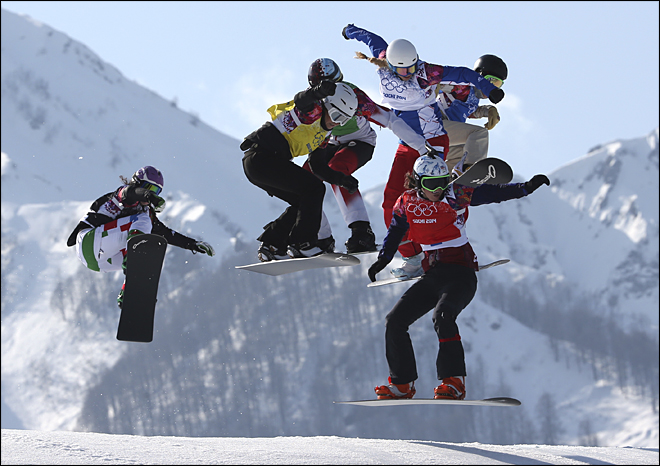 ADDITION Sochi Olympics Snowboard Women