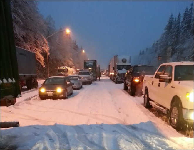 Mudslides, snow, wind wreak havoc on Western Washington