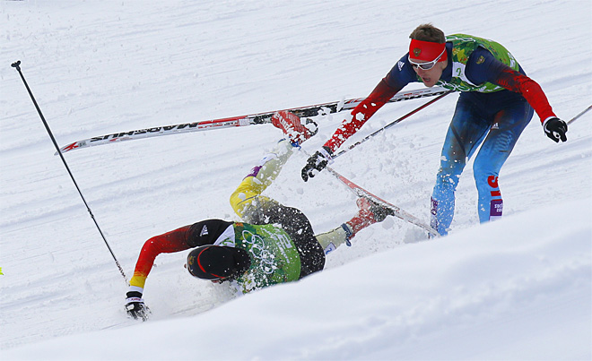 Sochi Olympics Cross Country Sprint