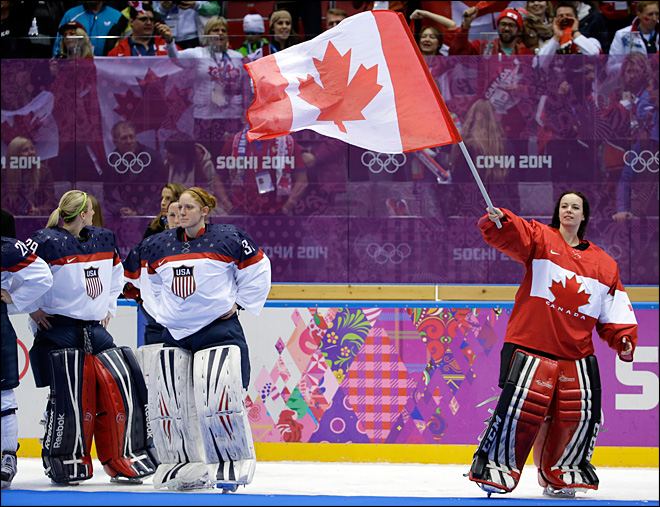 Canada women beat U.S. 3-2 in OT for Olympic gold