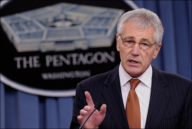 Defense secretary calls for huge troop cuts, base closures
