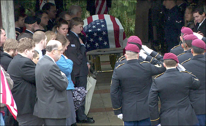 Honoring a hero: Family buries soldier killed in Afghanistan