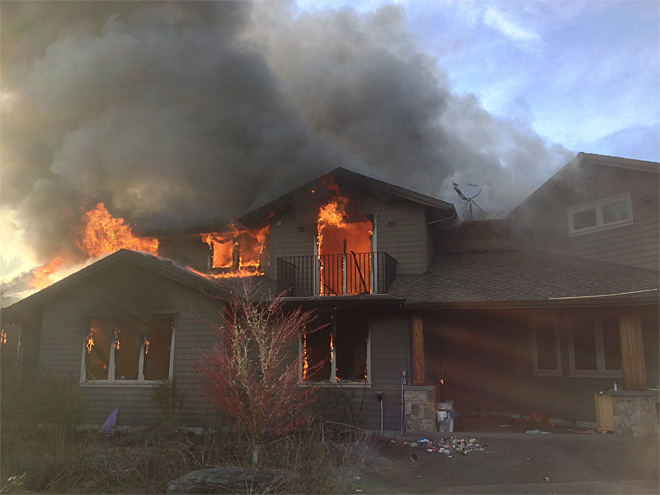 Estacada house fire