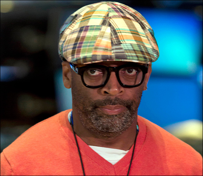 Vandals target Spike Lee's former home after rant