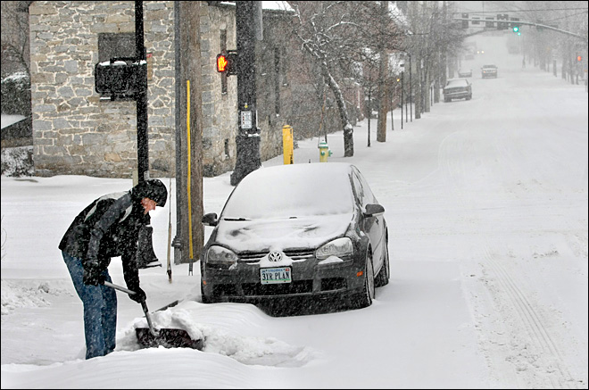 Winter's last gasp? Another storm blasts eastern U.S.