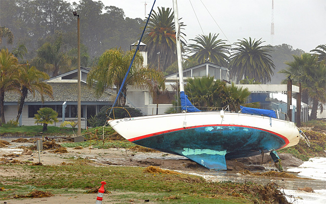 Evacuations lifted after California storm