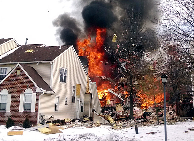 Woman killed, 7 hurt in NJ blast after gas leak