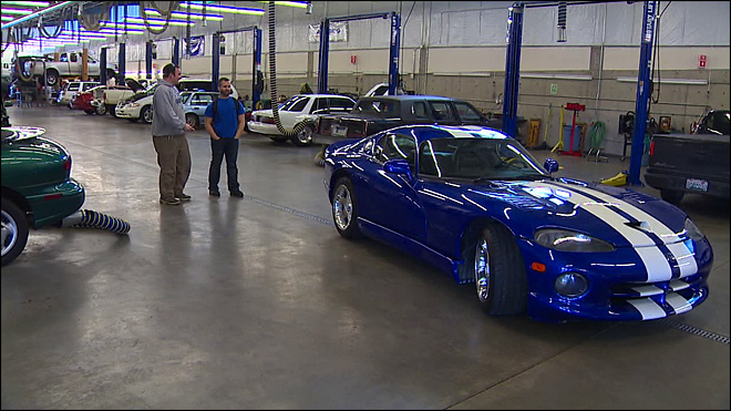 Olympia college ordered to crush rare car