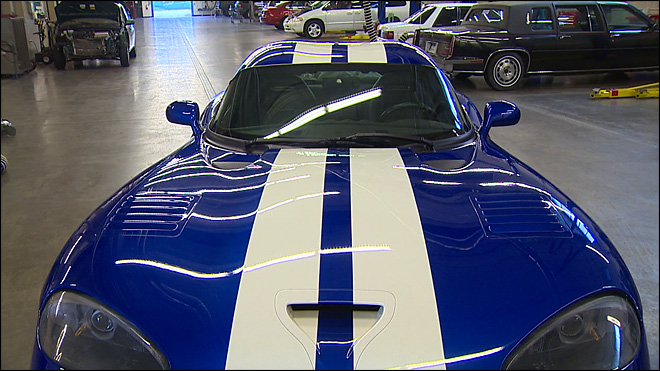 College ordered to crush rare car