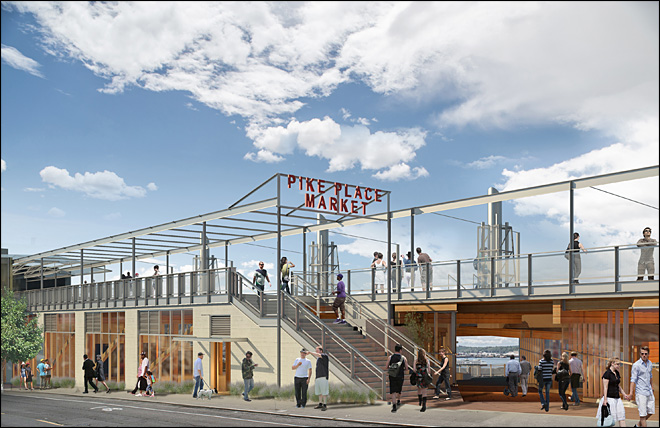 Pike Place Market renovation