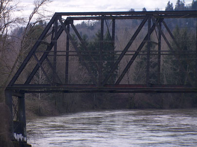 Why is Gladstone's Old Trolley Bridge collapsing?