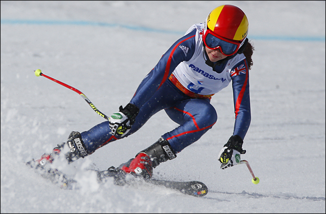Sochi Paralympics Alpine Skiing Ladies