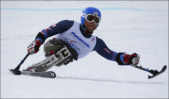 Sochi Paralympics Alpine Skiing Men