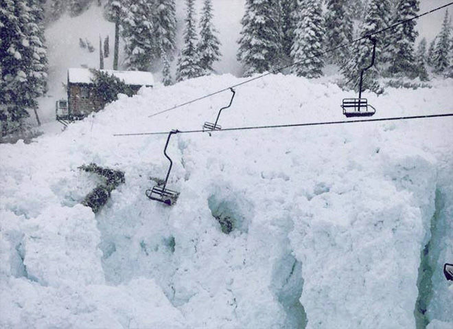 Crystal Mountain to sell chairs from avalanche