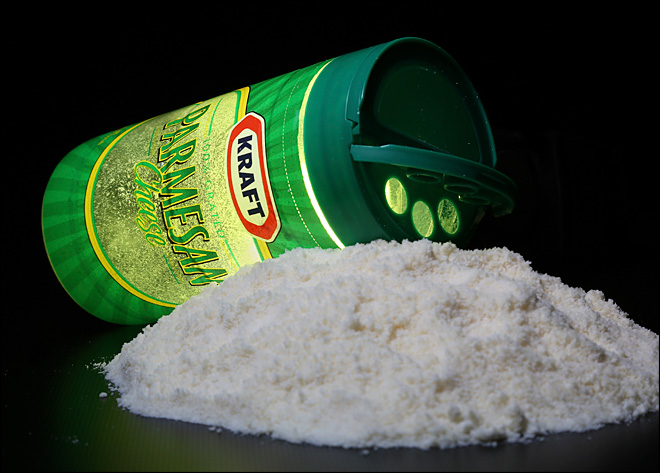 Europeans scoffing at American-made 'Parmesan' cheese