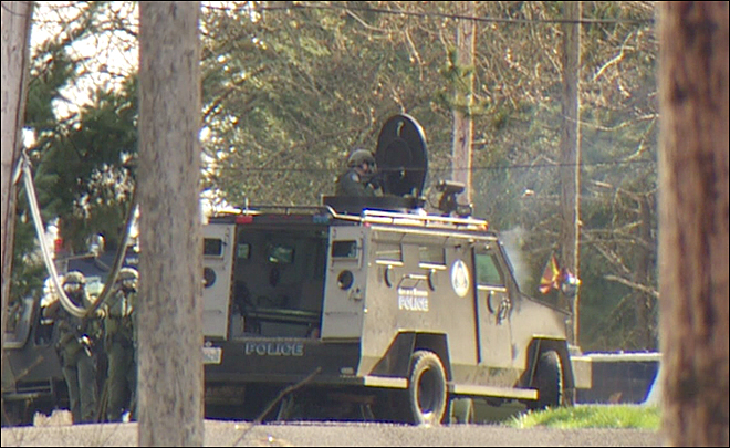 Police: Fugitive shot and killed during standoff in Ridgefield