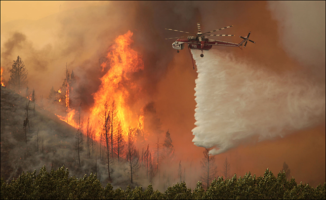 Wyden, Merkley seek new way to pay to fight big wildfires