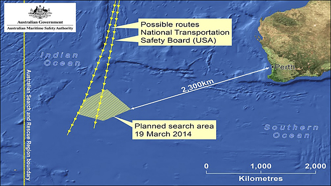 Australia checking 2 objects in search for missing jetliner