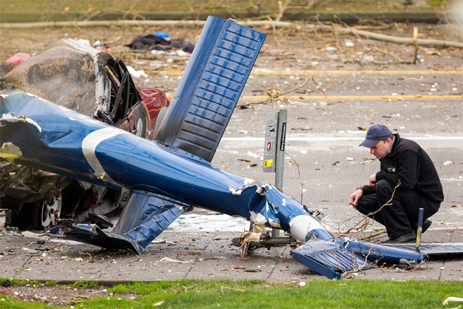 NTSB releases first report about Seattle news chopper crash