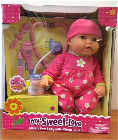 Wal-Mart recalling 174,000 dolls over burn risk