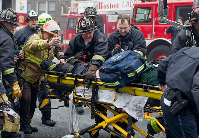 Boston mourns 2 firefighters killed in 9-alarm blaze