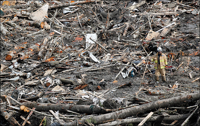 Some of 90 missing in mudslide may not be found