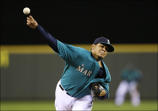 Mariners' arms trending toward record season