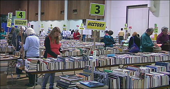 36th Friends of Eugene Public Library sale spreads love of reading