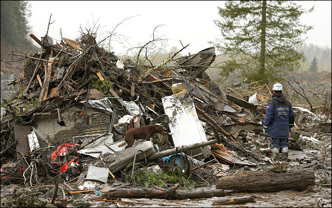 3 more Oso mudslide victims ID'd; rains hamper search