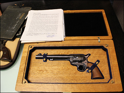 Wyatt Earp gun sells for $225,000 at auction
