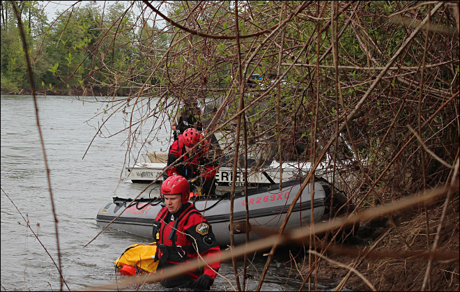 Deputies identify man found floating in the Willamette near Albany