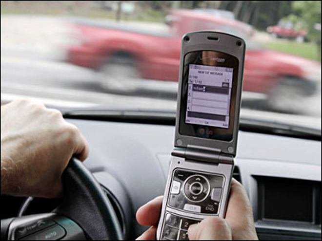 'Lives out there can be saved by not texting while driving'