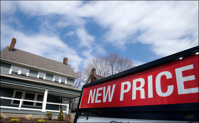 Weaker sales slowed home price gains in March