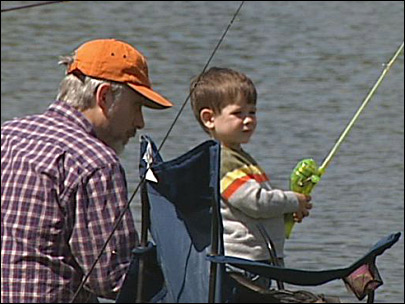 Families find the allure of angling at Alton Baker free fishing event