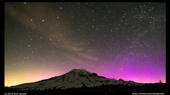 Video highlights the nighttime sky shows we're missing