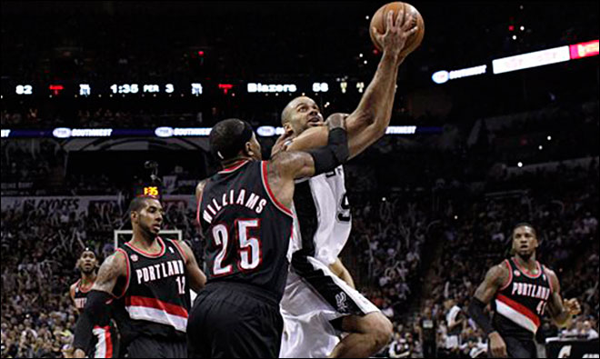 Trail Blazers lose Game 1 to Spurs, 116-92